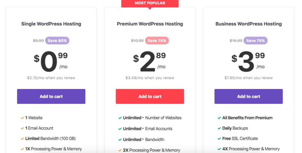 Best managed WordPress hosting - Hostinger