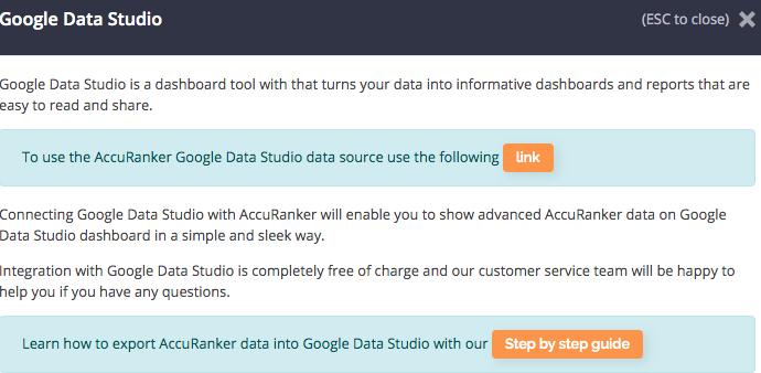 accuranker google data studio