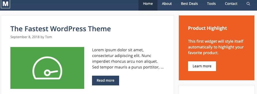 generatepress site library marketer
