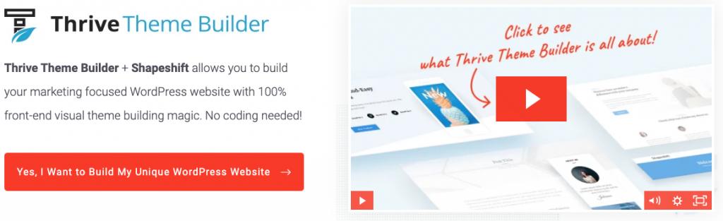 Thrive Theme Builder