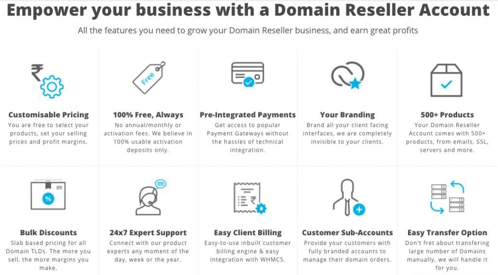 resellerclub domain reseller
